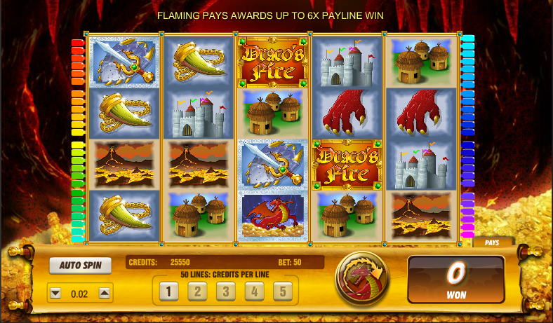 dracos fire slot review