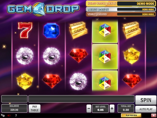 gem drop screenshot