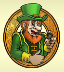 irish gold leprechaun