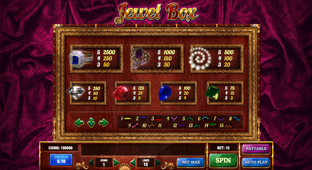 Jewel Box Game