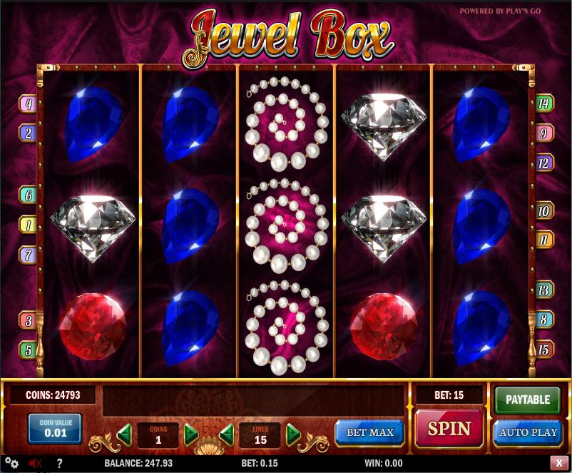 jewel box screenshot