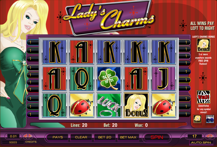 online casino real money lucky ladys charm tricks