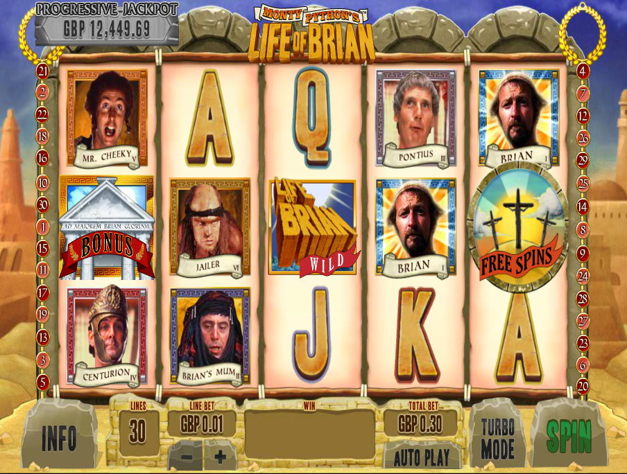 life of brian slot review