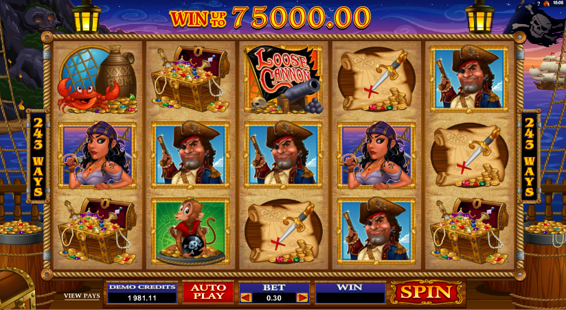 loose cannon slot review