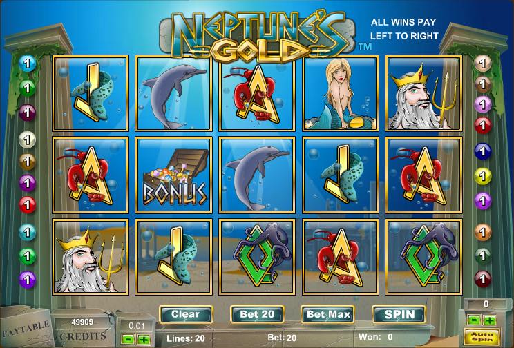 Neptunes Gold slot - spil Amaya slots gratis