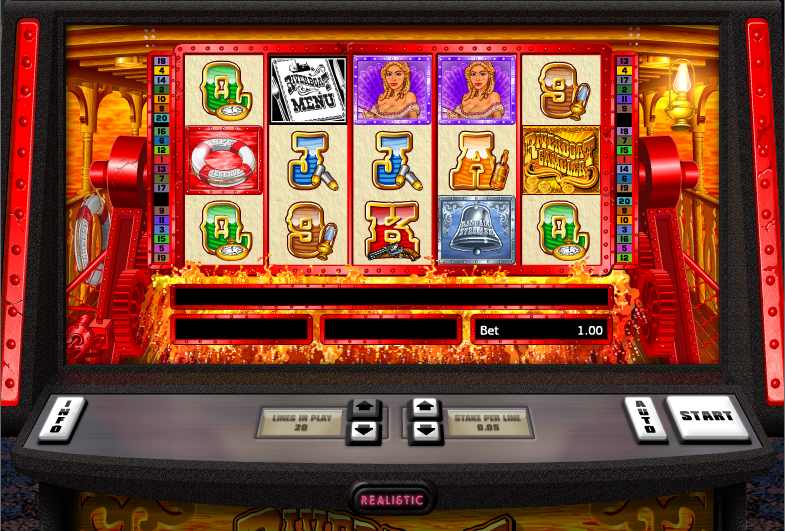 riverboat gambler screenshot