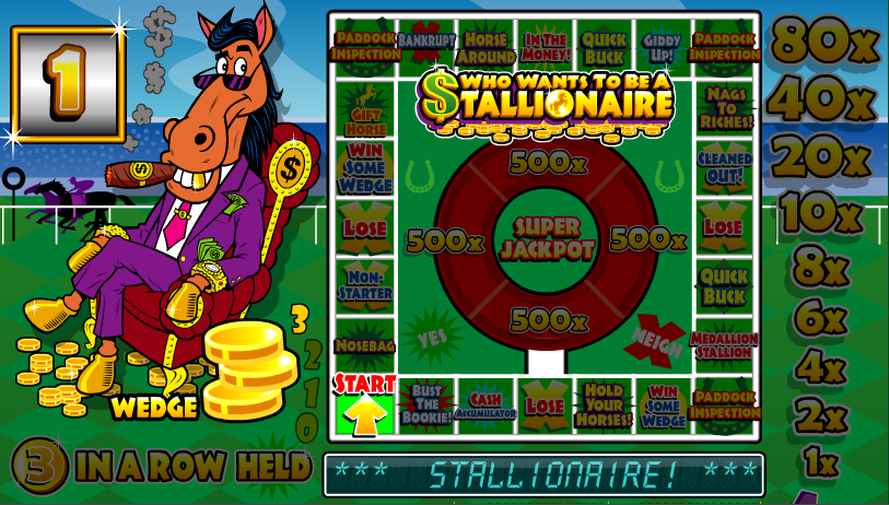 stallionaire screenshot