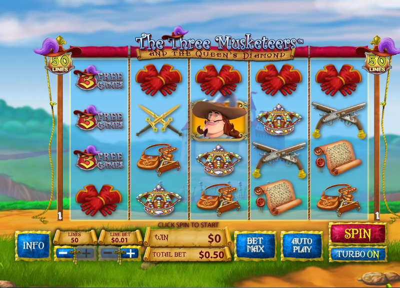 Spiele Three Musketeers - Video Slots Online