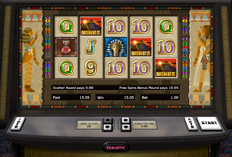 tutankhamun slot review