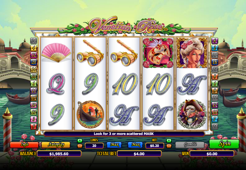 Venetian Rose Online Slots for Real Money - Rizk Casino