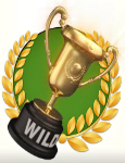 gold trophy 2 wild