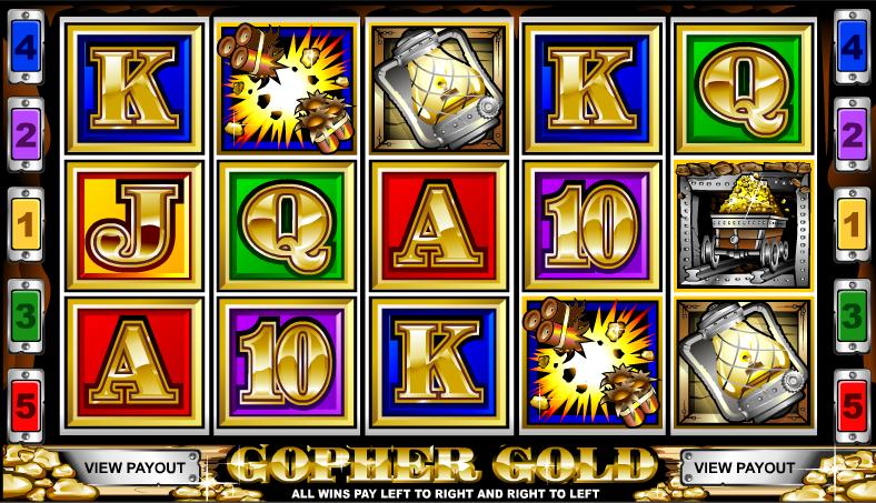 gopher gold screenshot