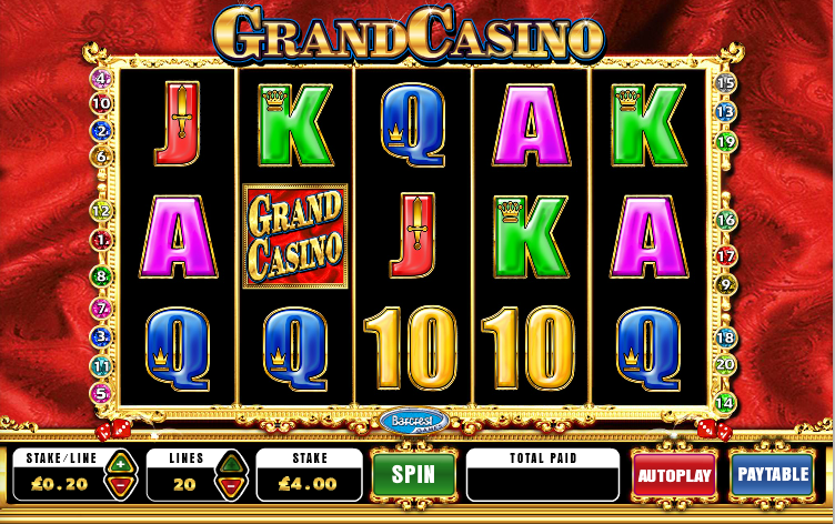 grand online casino slot book