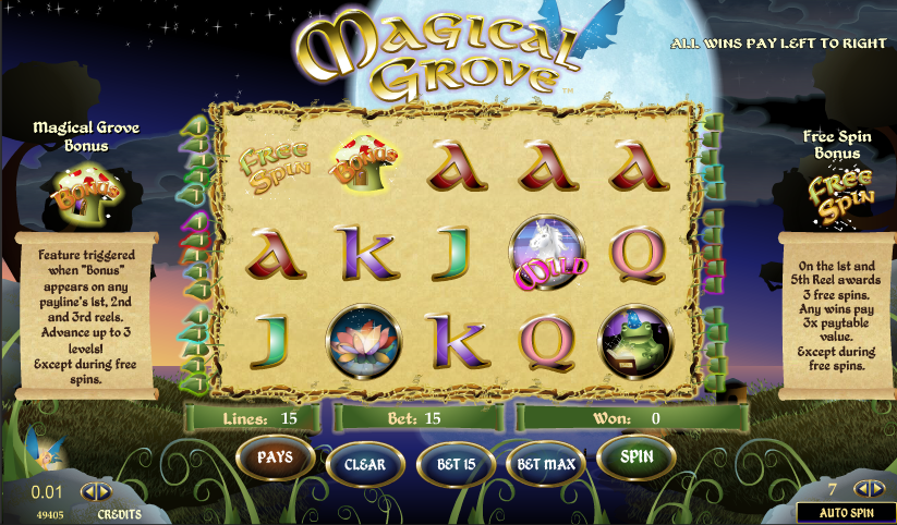 magical grove slot review