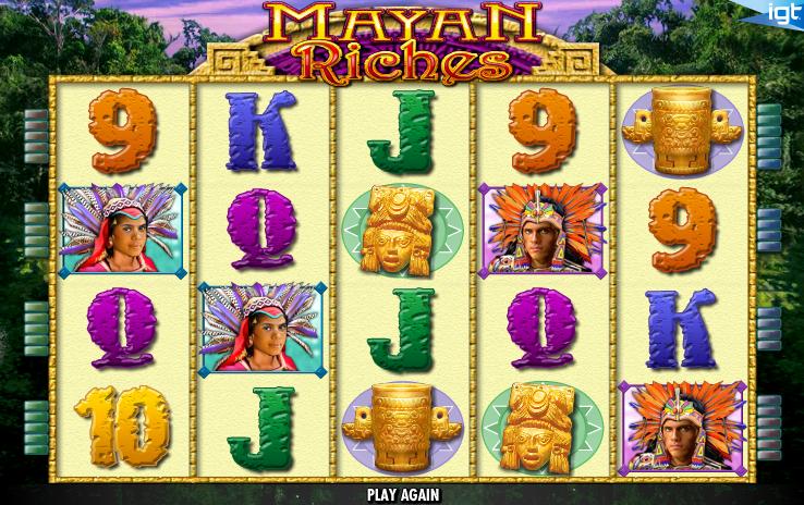 mayan riches screenshot