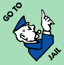monopoly on a roll jail