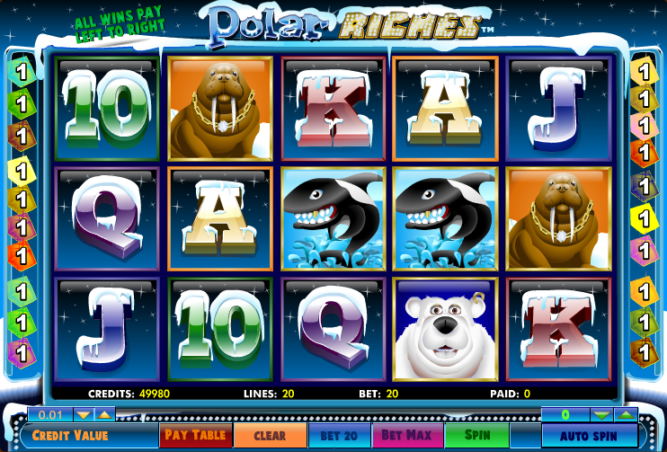 polar riches slot review
