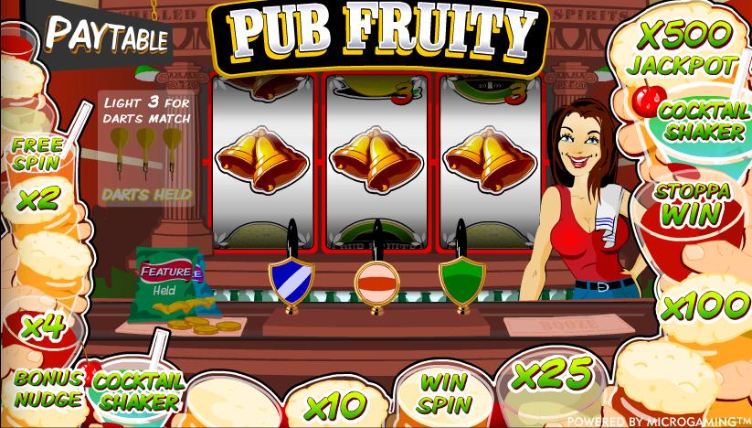 pub fruity slot review