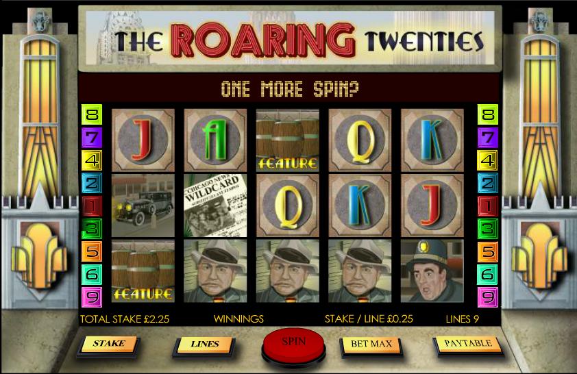 roaring twenties slot review