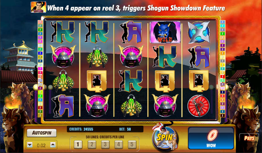 shogun showdown screenshot