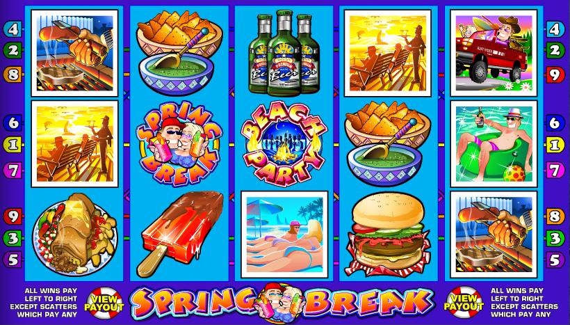 spring break screenshot