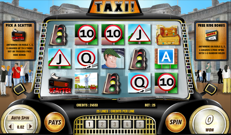 taxi slot review