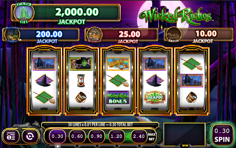 wicked riches screenshot