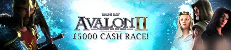 avalon II cash race