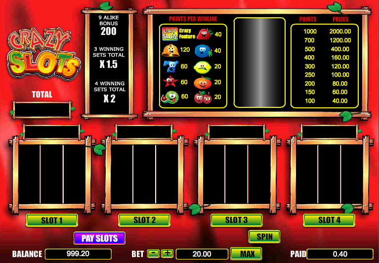 real slot games online crazy slots
