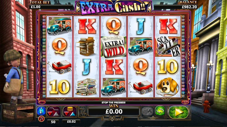 extra cash! slot review