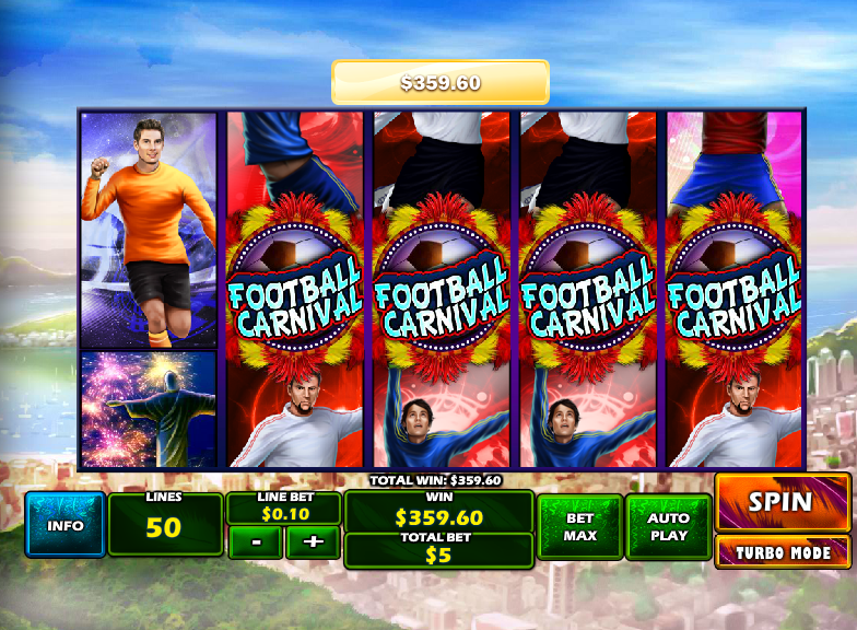 Play Football Carnival Slots Online at Casino.com India