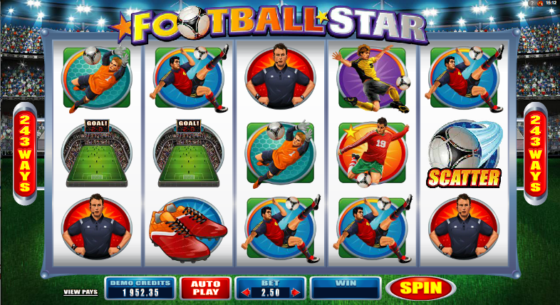 football star slot review