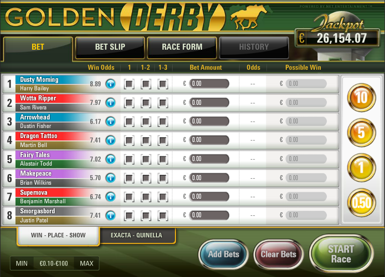 golden derby slot review