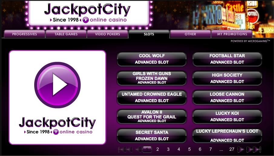 Jackpot City Review - Casino.com India
