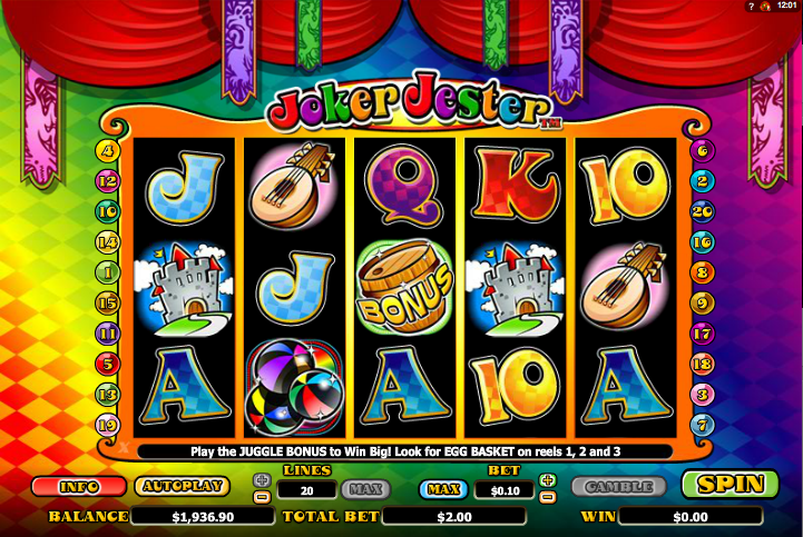 Wild Jester Slot Machine - Find Out Where to Play Online