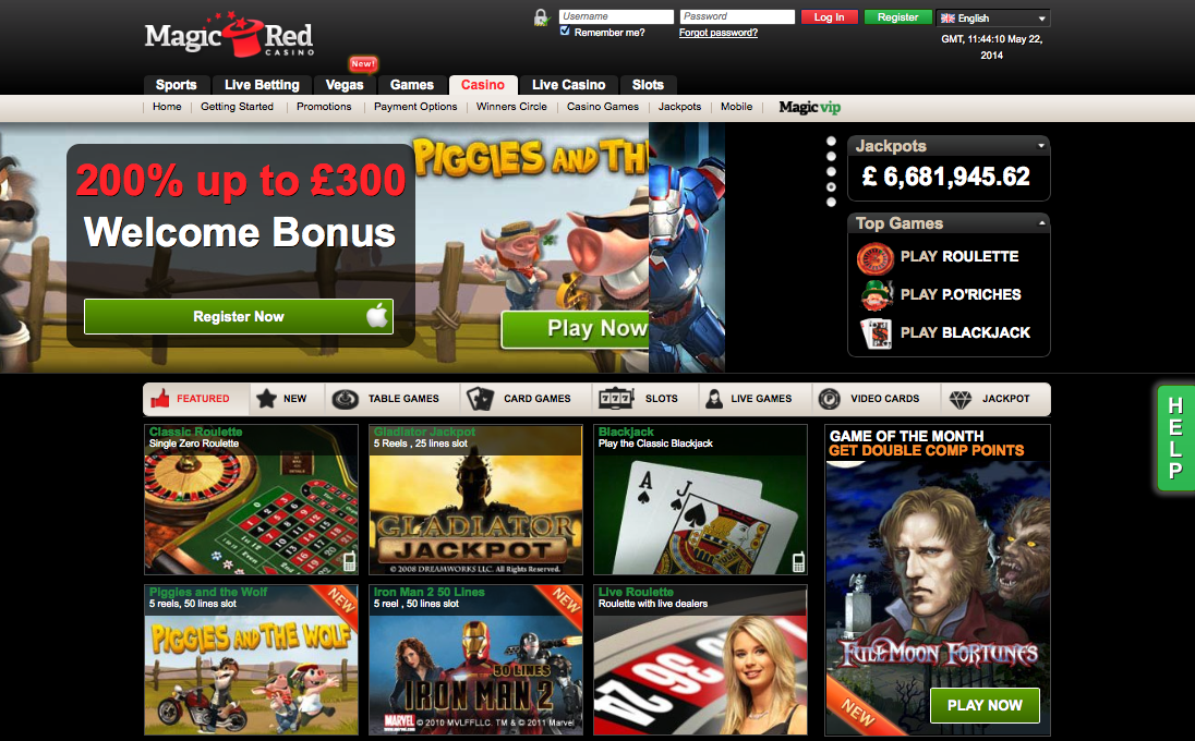 Magic Red Casino Review – Expert Ratings and User Reviews