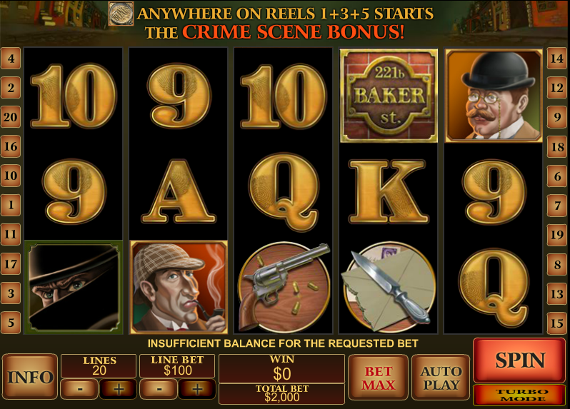 Sherlock of London Slots - Play Now for Free or Real Money