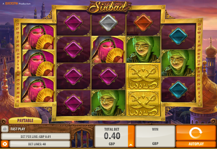 Sinbad QuickSpin Online Slots for Real Money - Rizk Casino