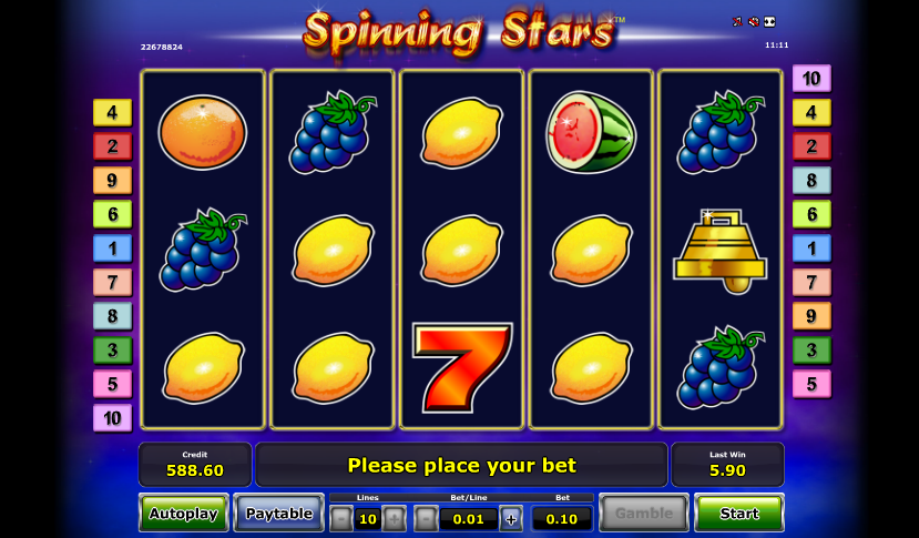 spinning stars slot review