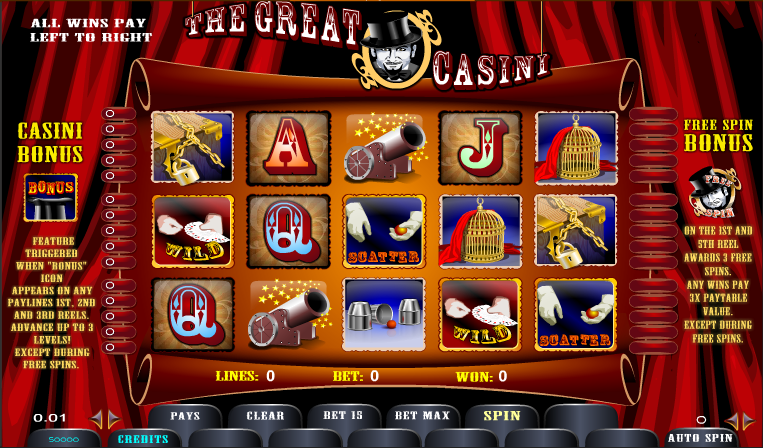 the great casini slot review