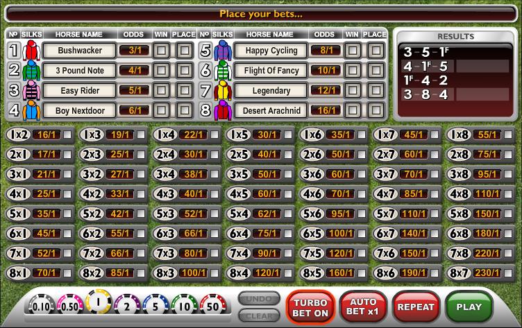 virtual horses screenshot