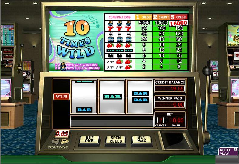 10 times wild slot