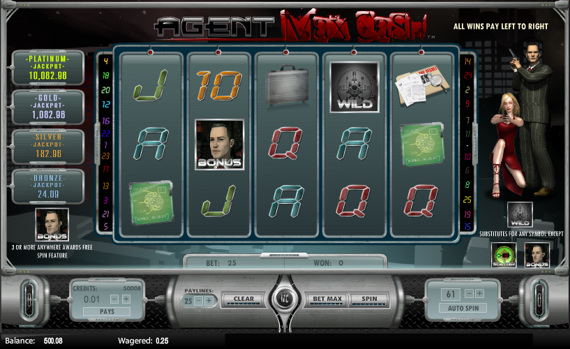 agent max cash slot review