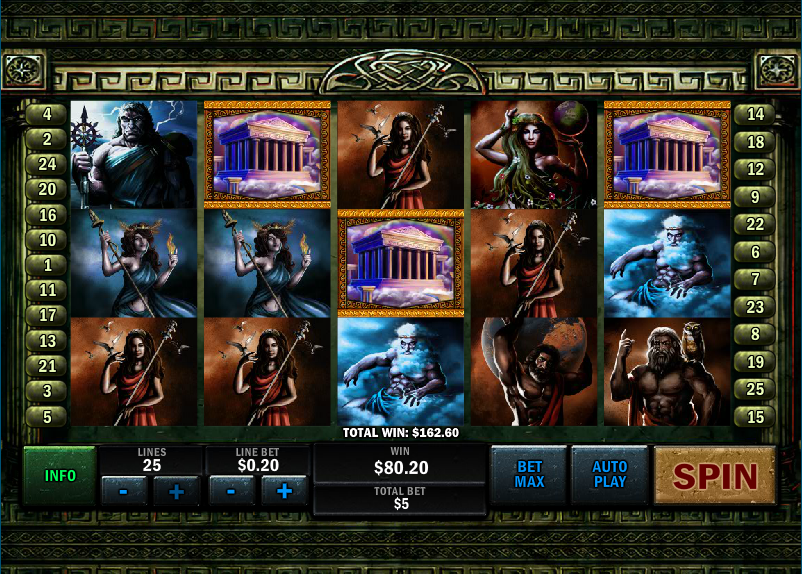 Play Battle of the Gods Slot at Casino.com UK