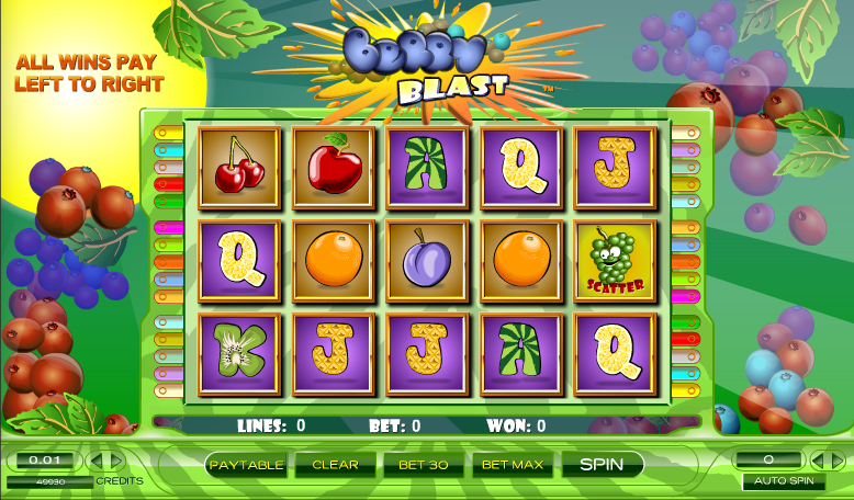 Berry Blast Slot by Amaya - Play for Free at Online Casinos
