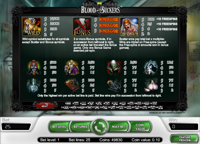 bloodsuckers slot review