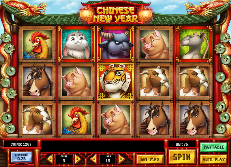 chinese new year slot review