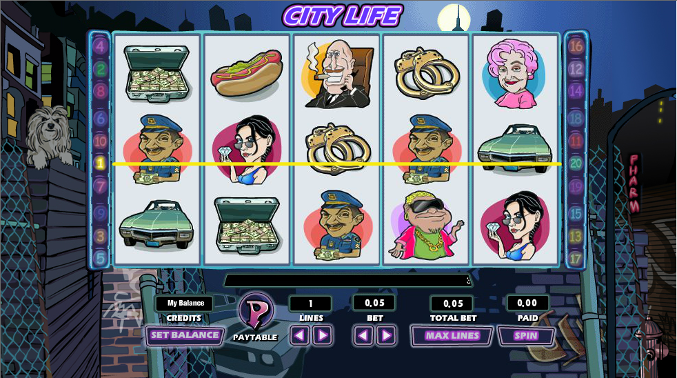 city life slot review