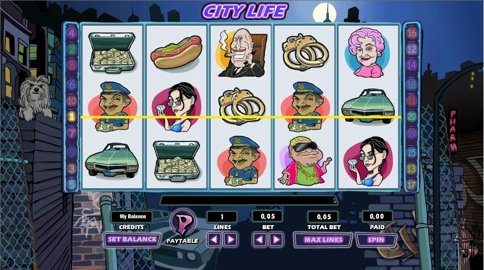 city life slot review