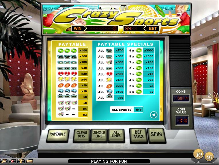 online slots casino crazy slots